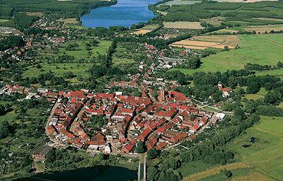 Luchtfoto Rudowersee / Lenzen